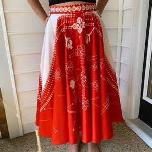 AM:PM (from Anthropologie) fit and flare skirt